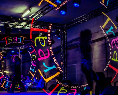 LED Poi act met Visual Poi bij Thuis in de Tunnel 2015