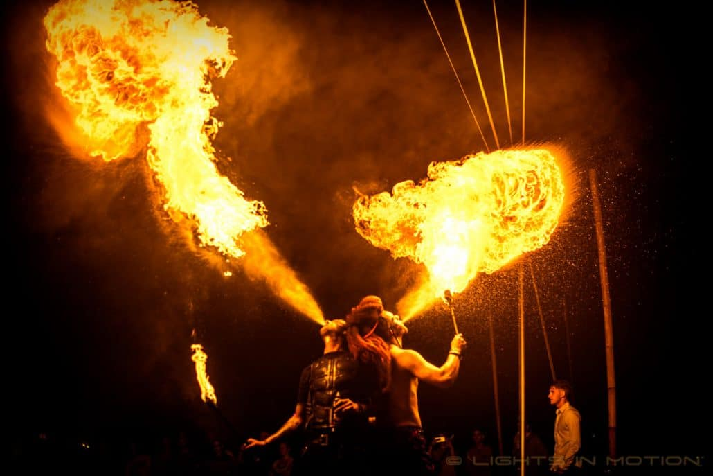 DEFQON 1 - Fire Artists of Lights in Motion in the Endshow